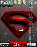 Superman Logo 02 tema screenshot