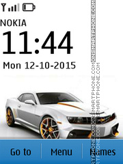 Chevrolet Camaro with Ringtone tema screenshot