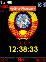 USSR (SWF Clock) Screenshot