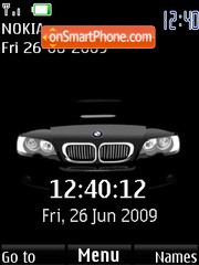 BMW (SWF clock and date) Screenshot