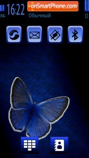 The blue Butterfly Screenshot