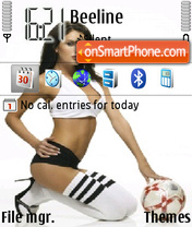 Football Girl 01 Screenshot