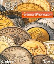 Collect coins tema screenshot