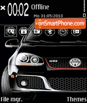 Style Golf GT tema screenshot