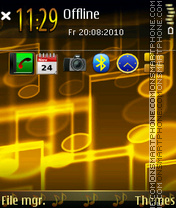 Music(v2) tema screenshot