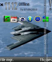 B2 bomber tema screenshot
